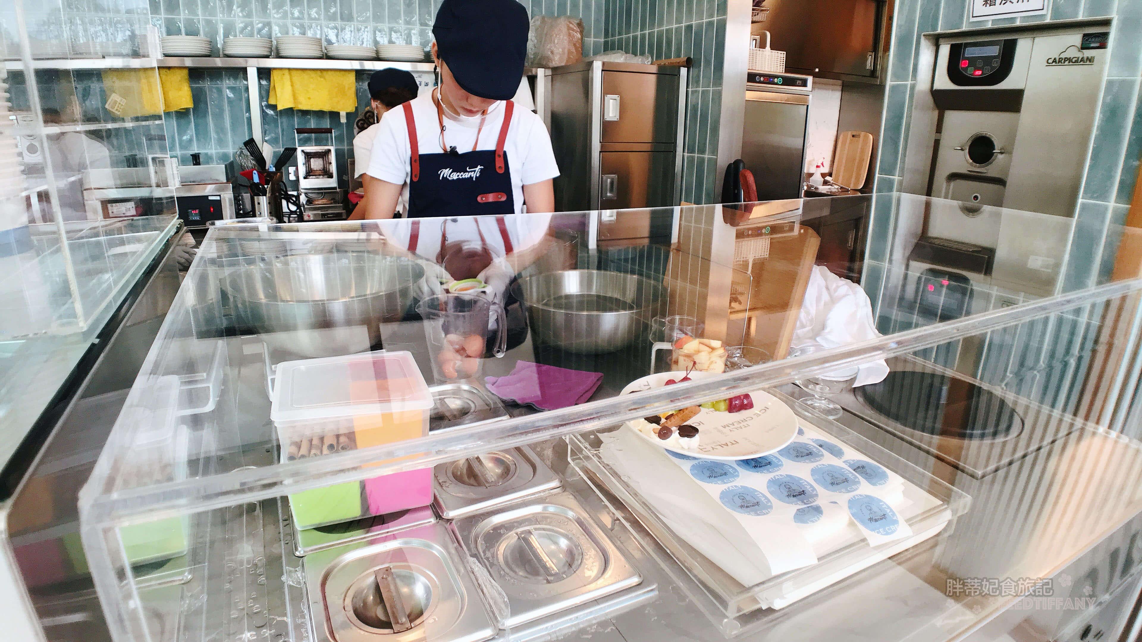Maccanti馬卡諦義大利冰淇淋 鬆餅工作台