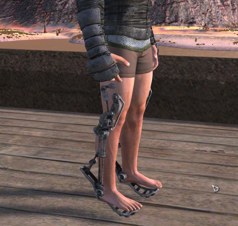 Ботинки скаута / Scout boots (RU)