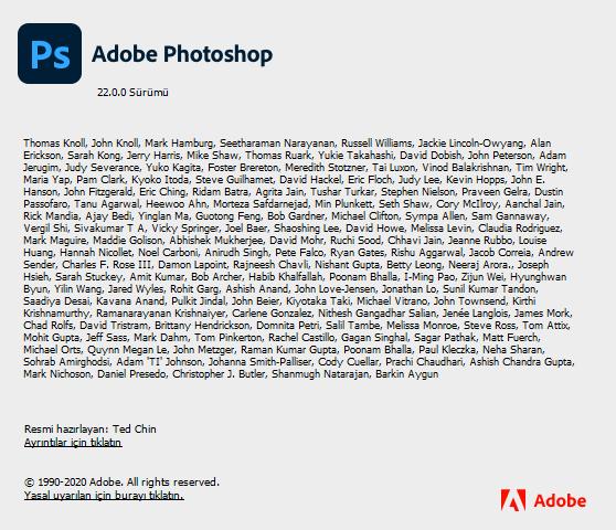 Adobe Photoshop 2021 v22.0.0