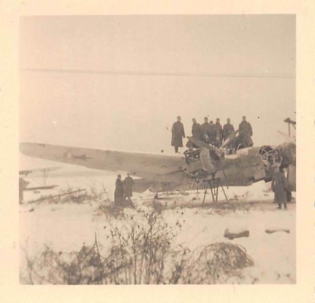 Russ-Flugzeug-SB-2-Martinbomber-Flugplatz-Minsk