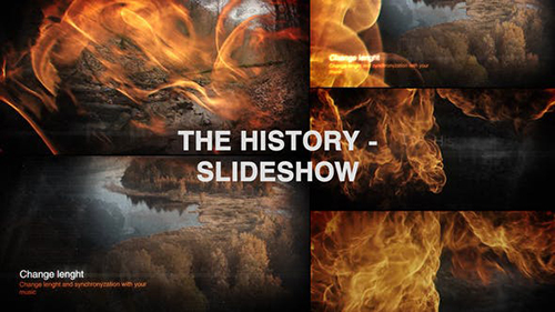 The History - Slideshow 33903582 - Project for After Effects (Videohive)