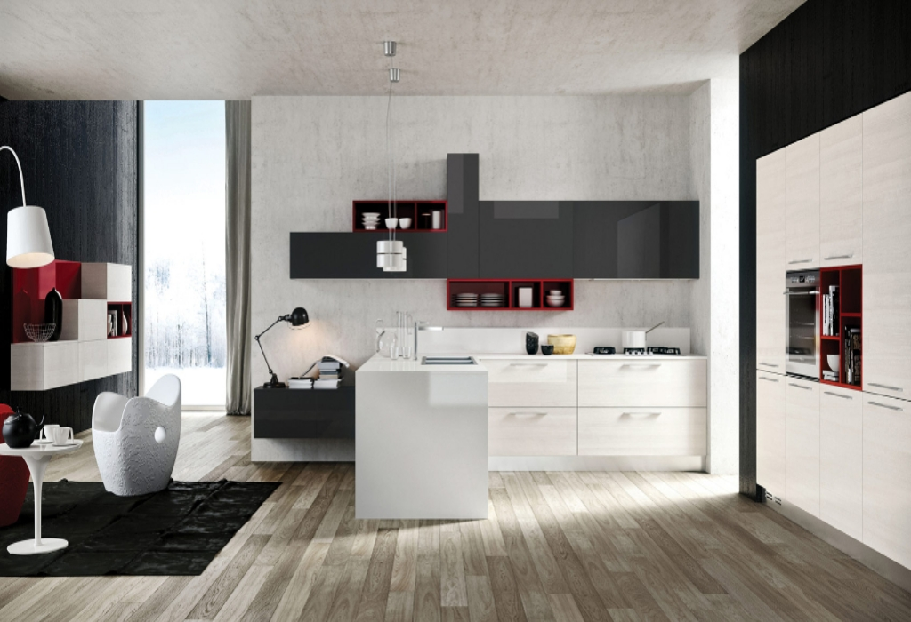 Kiddies, Work and Kitchen Design