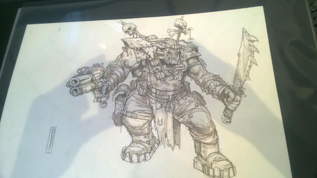 Galerie Daniel Maghen [originaux Warhammer Battle & 40K] 42