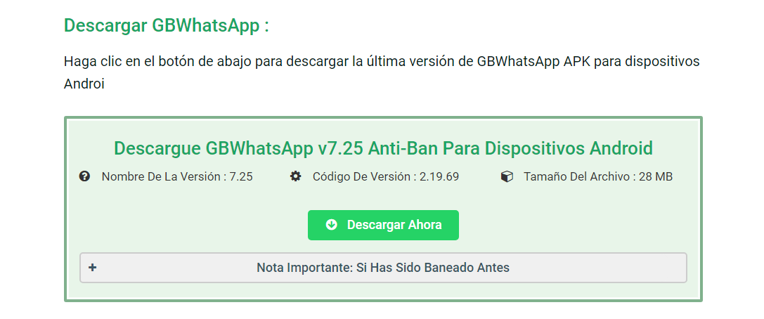 Descargar WhatsApp GB APK