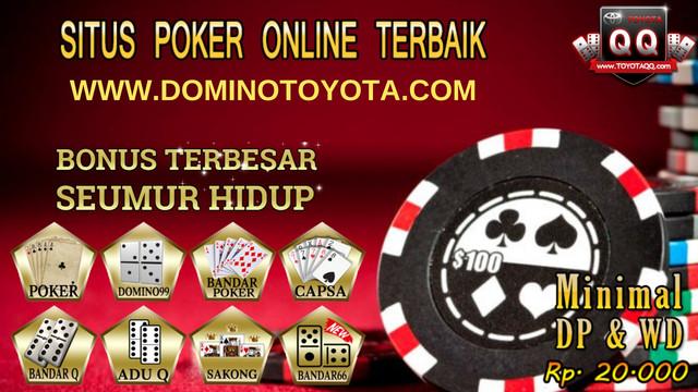 TOYOTAPOKER : AGEN BANDAR Q TERBAIK DAN TERPERCAYA DI INDONESIA - Page 2 WWW-DOMINOTOYOTA-COM