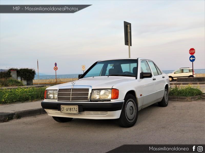 avvistamenti auto storiche - Pagina 11 Mercedes-W201-190-1-8-109cv-91-CTA18174-119-719-3-4-2017