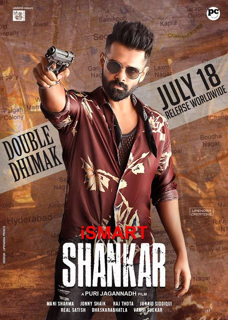 iSmart Shankar (2019) Hindi Dubbed Movie HDRip 720p AAC