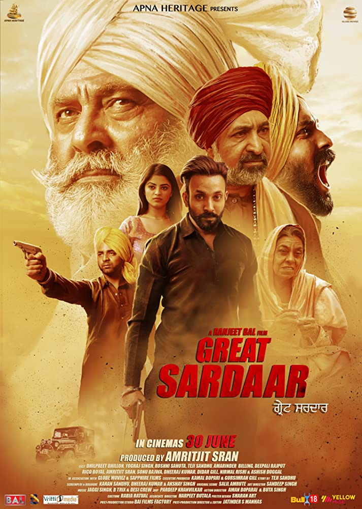 The Great Sardaar 2018 Punjabi 720p AMZN HDRip ESubs 750MB | 350MB Watch Online