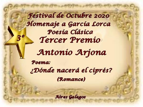 Premios de: Antonio Arjona Tercer-premio-clasica-ANTONIO-ARJONA