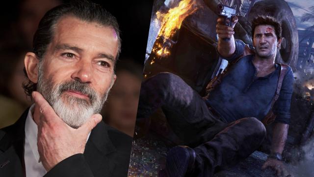 Uncharted Movie Adds Antonio Banderas More Ruben Fleischer