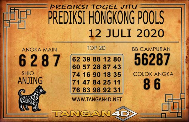 PREDIKSI TOGEL HONGKONG TANGAN4D 12 JULI 2020