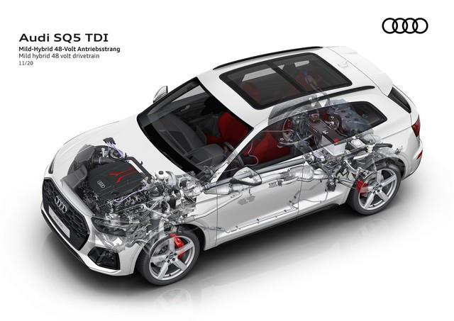 Sportivité, puissance et efficience : Audi présente la nouvelle génération de la SQ5 TDI A208384-medium