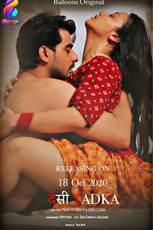 18+ Desi Tadka 2020 S01E02 Hindi Balloons Original Web Series 720p HDRip 160MB Watch Online