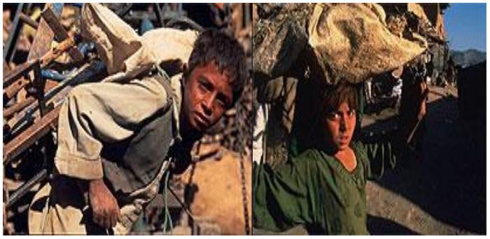 د افغان ماشومانو وضعیت