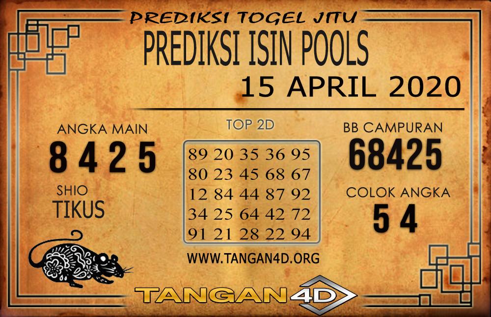 PREDIKSI TOGEL ISIN TANGAN4D 15 APRIL 2020