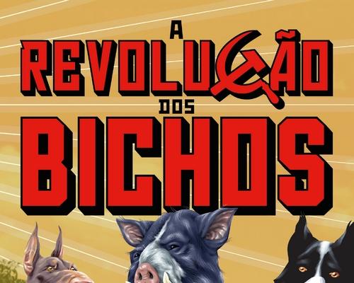 """@FaroEditorial lança edição do clássico """"A Revolução dos Bichos"""" de George Orwel"""