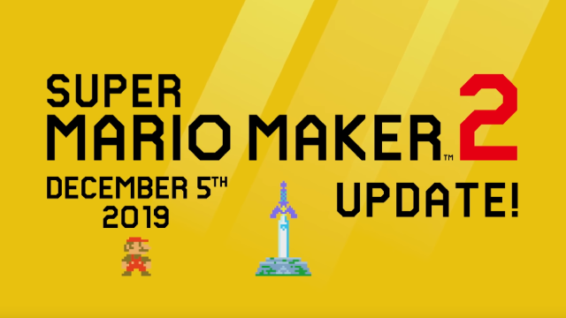 SUPER MARIO MAKER 2 Update Adds New Course Parts, Official Speedrun Mode, & Master Sword Power-Up