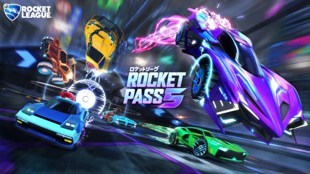 ROCKET LEAGUE: New Trailer For Rocket Pass 5 Shows Off An All-New Battle Car & More Upcoming Content