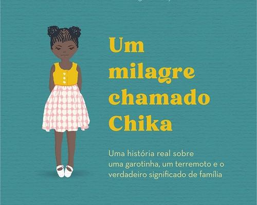 """Editora @sextante lança o mês que vem """"Um milagre chamado Chika"""" de Mitch Albom, autor de """"A última grande lição"""""""