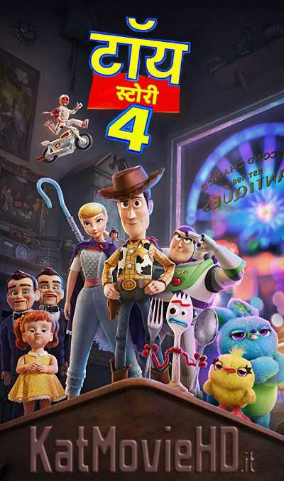 Toy Story 4 (2019) Hindi 720p HDRip Dual Audio [हिंदी  – English] Full Movie
