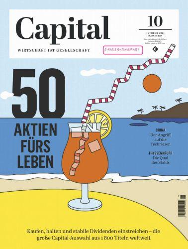 Cover: Capital Wirtschaftsmagazin No 10 Oktober 2021