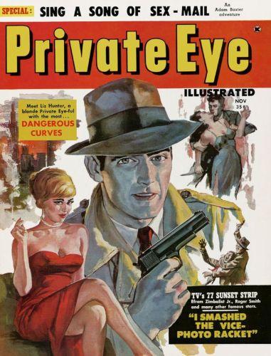 Cover: Private Eye Vol-01 No 01 Nov 1959