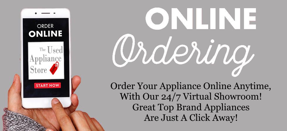 Order used appliances online