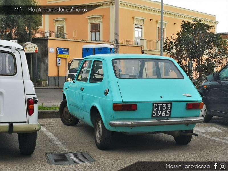 avvistamenti auto storiche - Pagina 11 Fiat-127-900-47cv-73-CT335965-1