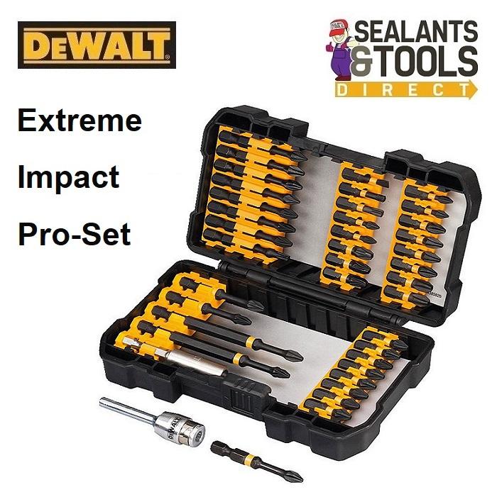 Dewalt DT70541T Extreme Impact Torsion Bit Set Screw Ring Lock Holder