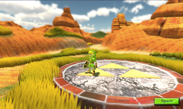 Hyrule Legend The Lost Melody Unity 4 Screen2
