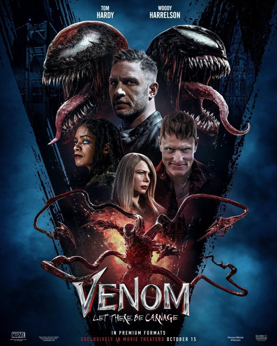 Venom Let There Be Carnage (2021) Hindi Dubbed 720p HDRip 700MB Download