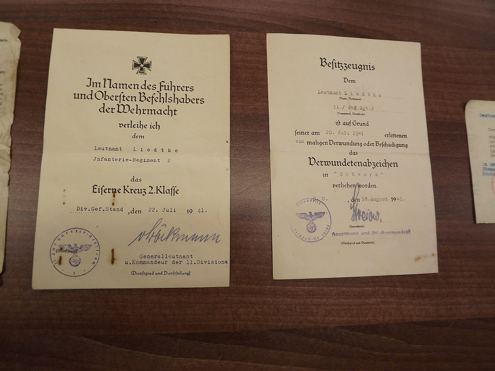 Gerhard Liedtke dokuments