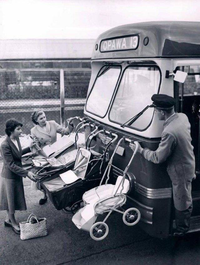 Перевозка детских колясок в Новой Зеландии