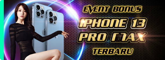 EVENT BONUS IPHONE 13 PROMAX TERBARU