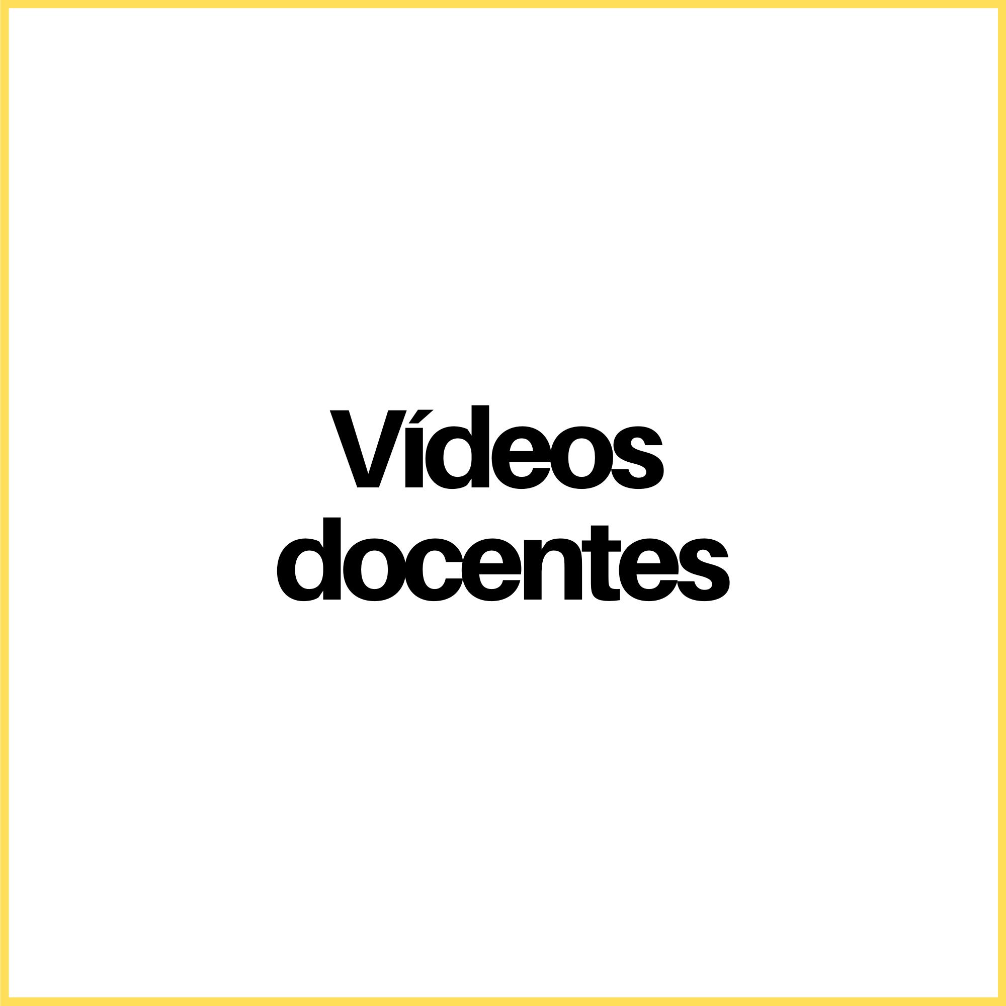 Videos docentes