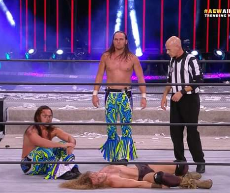 The Young Bucks ganan AEW All Out