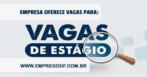 ESTÁGIO PARA DESENVOLVEDOR WEB