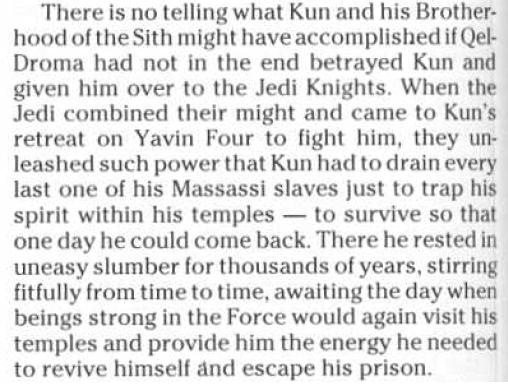 Thexan vs Exar Kun Exar-Kun-related