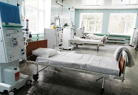 Четыре года назад в отделении было обновлено оборудование – закуплены аппараты для гемодиализа