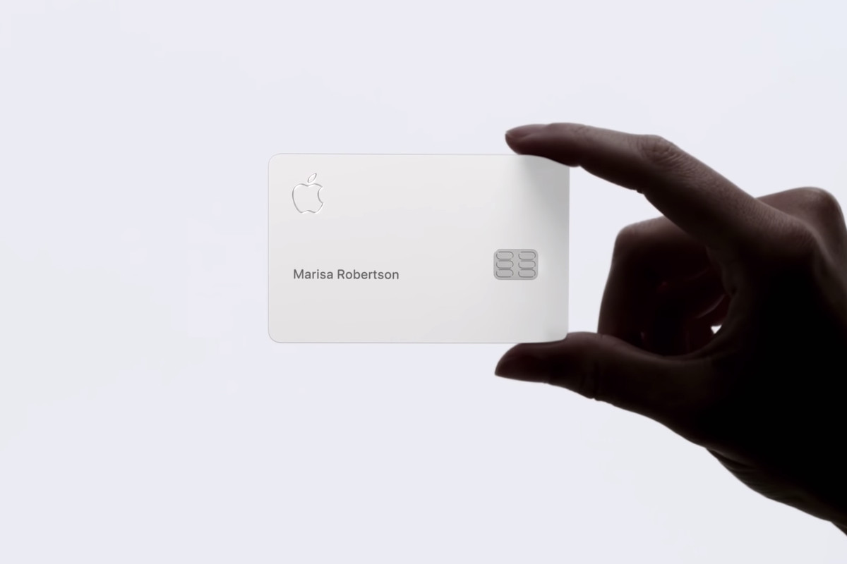 The new Apple Card should not be put in contact with leather and denim
