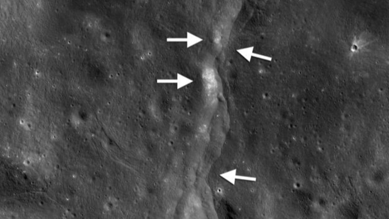 La Luna tiembla y sigue menguando