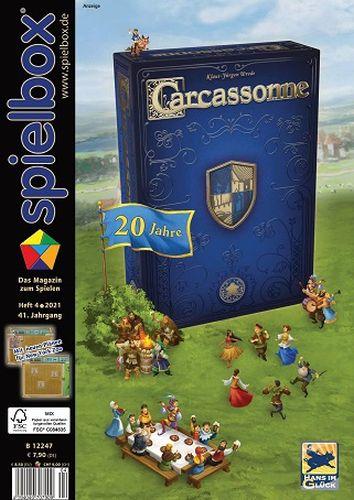 Cover: Spielbox Das Magazin zum Spielen No 04 2021