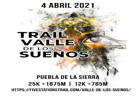 El 4 de Abril llega el Trail Valle de los Sueños en Puebla de la Sierra
