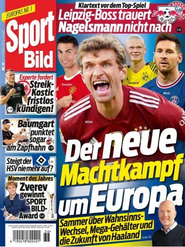 Cover: Sport Bild Magazin No 36 vom 08  September 2021