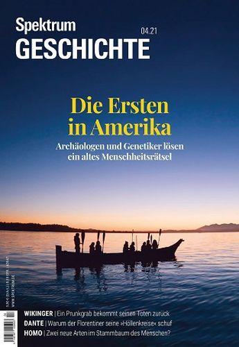Cover: Spektrum  Geschichte Magazin No 04 2021