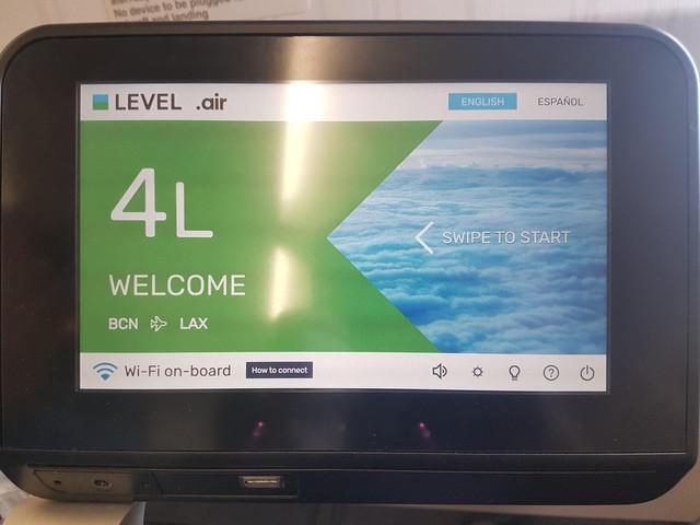 Level Airlines Economy Class16