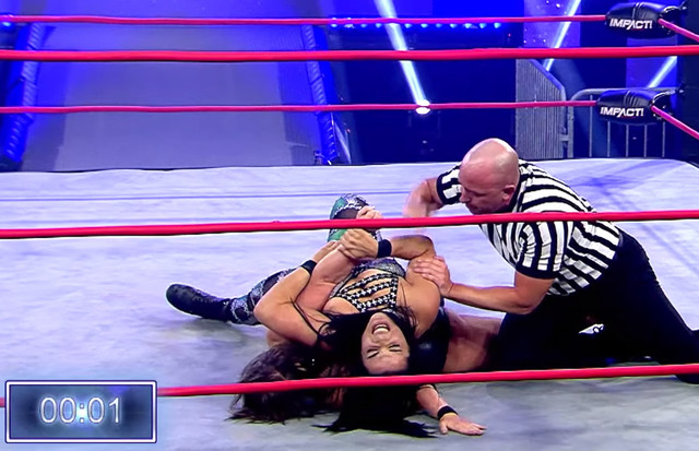 Deona vence a Jordynne Iron Man Match