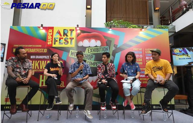 Kompetisi Seni Jalanan Mencari 12 Milenial Berbakat