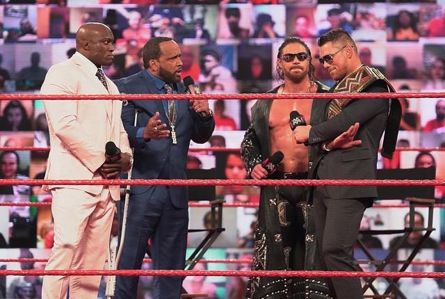 Bobby Lashley pide a Miz el Campeonato de WWE RAW 22 Febrero