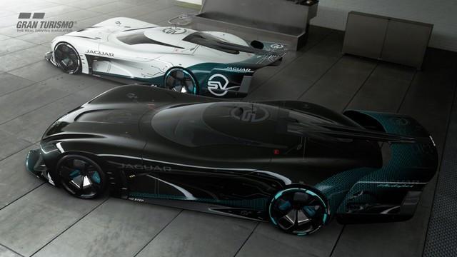 Jaguar Lève Le Voile Sur La Vision Gran Turismo SV : La Voiture De Course 100% Électrique Ultime Pour Les Passionnés De Course Automobile Jag-GTSV-Exterior-02-161220